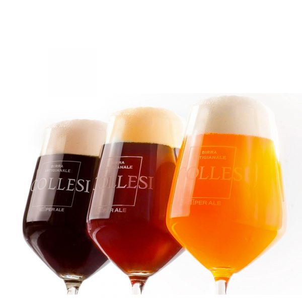 Birra Collesi Degustations-Set, Bionda, Ambrata Rossa