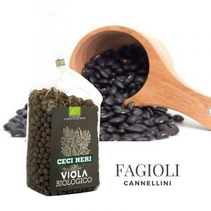 Viola Biologico - Fagiolini Cannelini Neri